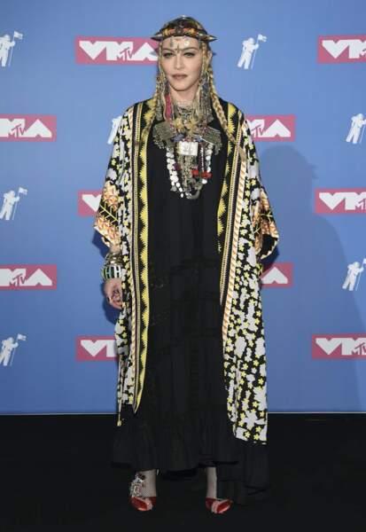 Madonna a sorti ses bijoux marocains.