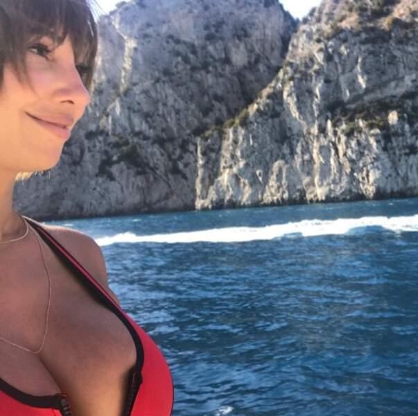 La vue était sublime pour Jackie Cruz en Italie.