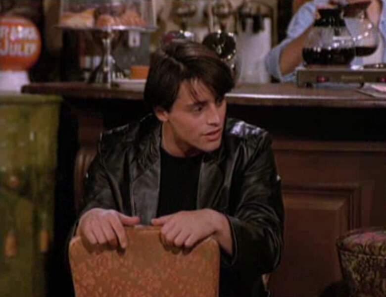 Joey Tribbiani (Matt LeBlanc) dans l'épisode pilote de Friends.