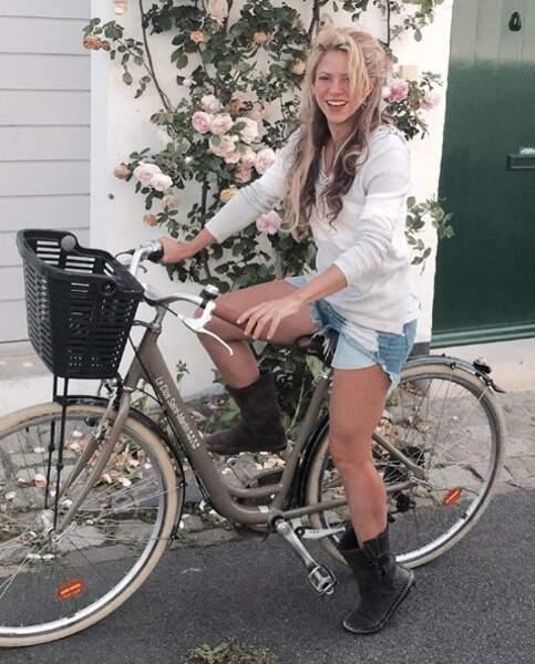 Comme elle, Shakira était à l'Île de Ré pendant que son chéri, Gerard Piqué, jouait à l'Euro.