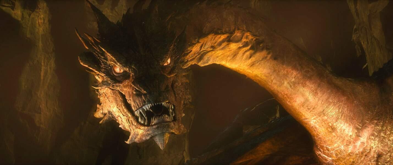 L'acteur incarne... le dragon Smaug ! Dans Le Hobbit : la désolation de Smaug (2013)