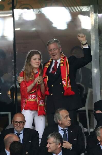 Le roi de Belgique n'aura pas porté chance à son équipe