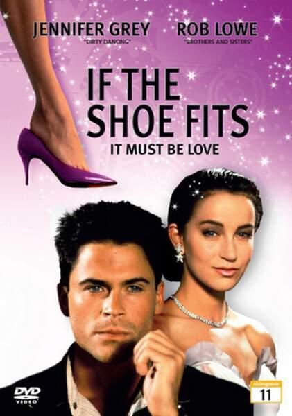 """Rob Lowe et Elisabeth Vitali en 1990 dans """"Le soulier magique"""""""