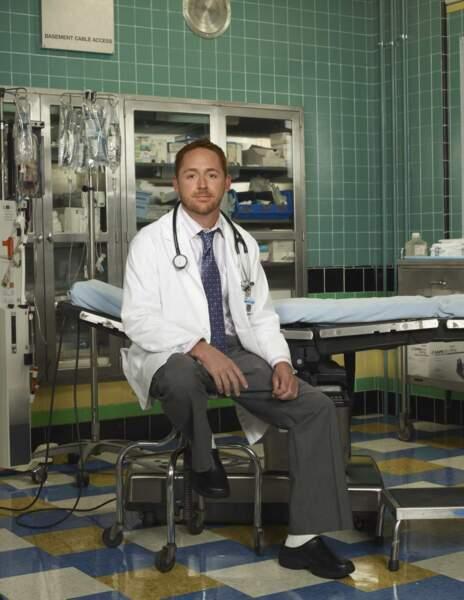 Le docteur Archibald Morris interprété par Scott Grimes