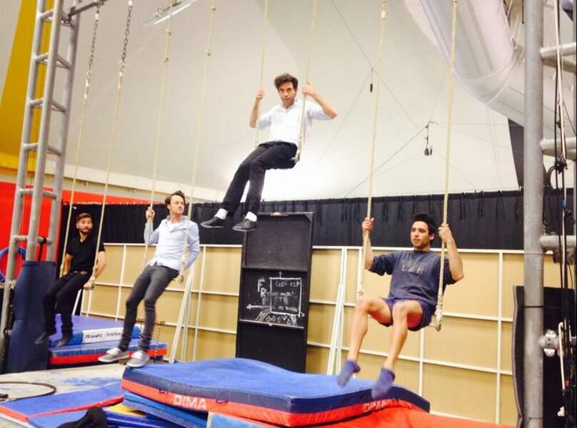 Sortie au cirque cette semaine pour les talents de Mika