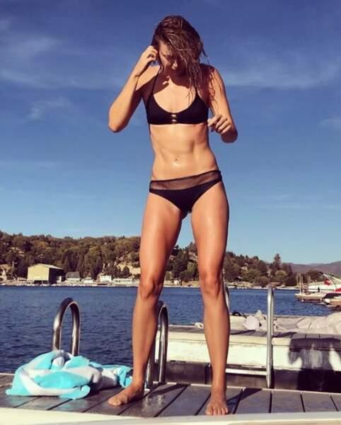 Sans parler du corps musclé de Maria Sharapova.
