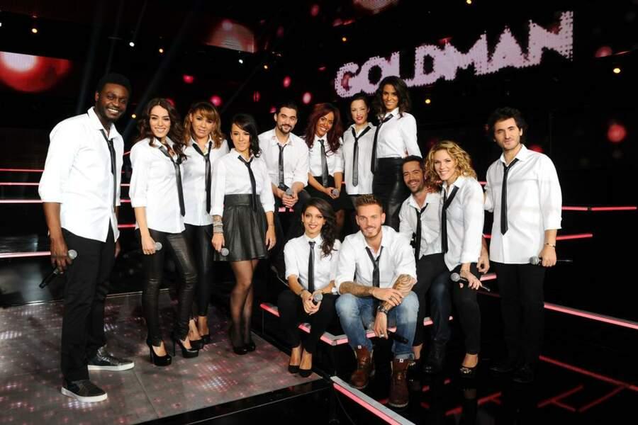 Matt Pokora, Lorie, Sofia Essaïdi, Shy'M... Toute la jeune génération chante Goldman !