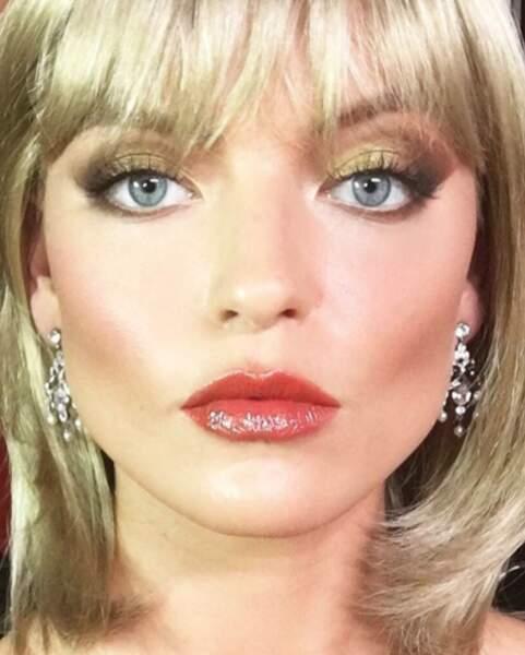 La top-model Marta Hunt nous a replongés dans le film Scarface...