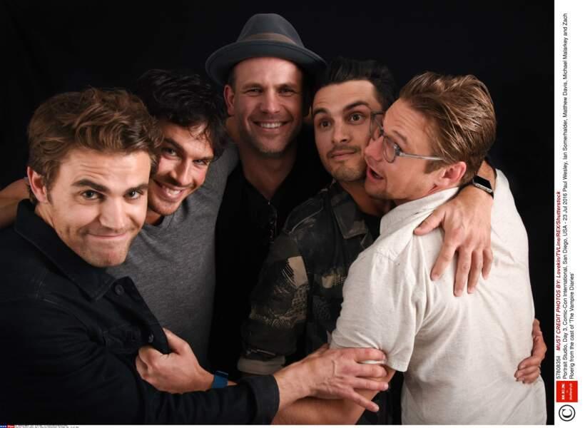 Photo 100% masculine pour Vampire Diaries