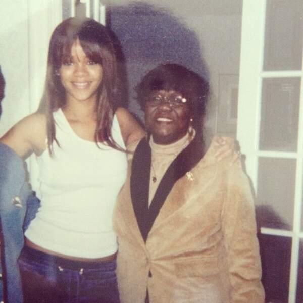 Rihanna à l'époque où elle était encore toute mimi