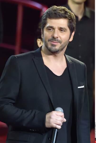 Patrick Fiori est lui aussi resté complice avec la chanteuse