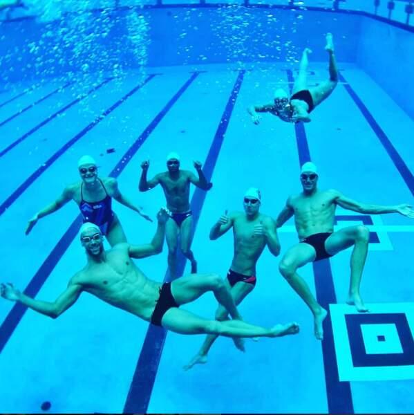 Tony Parker, champion olympique de natation. Wait... what ?