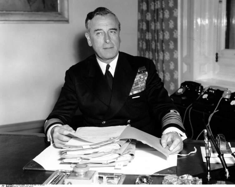 Lord Louis Mountbatten était l'oncle maternel du prince Philip et dernier vice-roi de l'Inde britannique