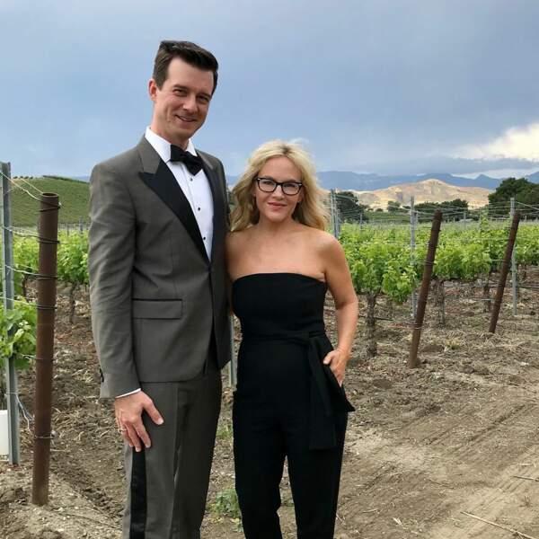Rachael Harris, alias Linda, la psy dans la série, a aussi rendu hommage aux mariés