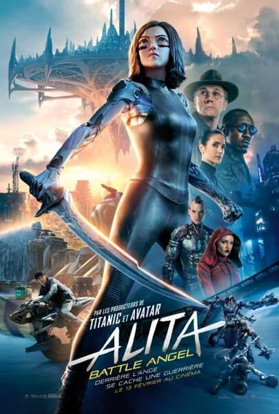 """""""Alita : Battle Angel"""" est la nouvelle production de science-fiction de James Cameron."""