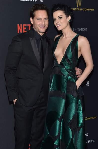 L'actrice Jaimie Alexander et Peter Facinelli, en couple depuis 2012.