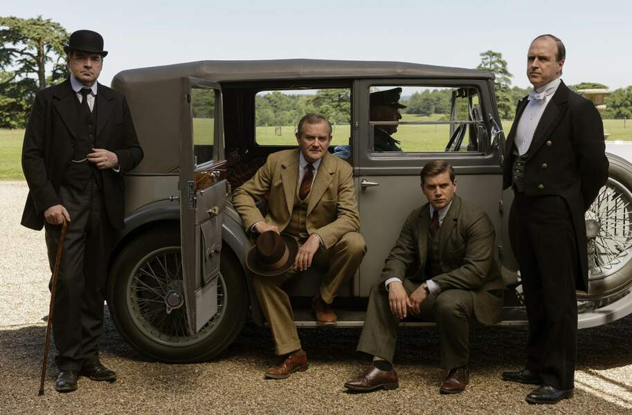 Bien avant de rejoindre aussi Downton Abbey !