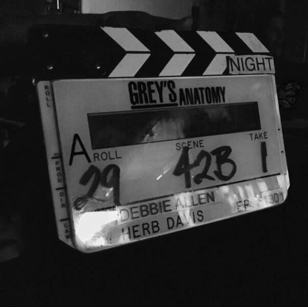 Aujourd'hui, on vous dévoile les coulisses du tournage de la saison 13 de Grey's Anatomy !
