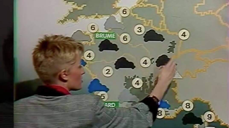 Nous sommes en 1987. Reconnaissez-vous cette jeune femme, qui présente la météo sur Antenne 2 ?