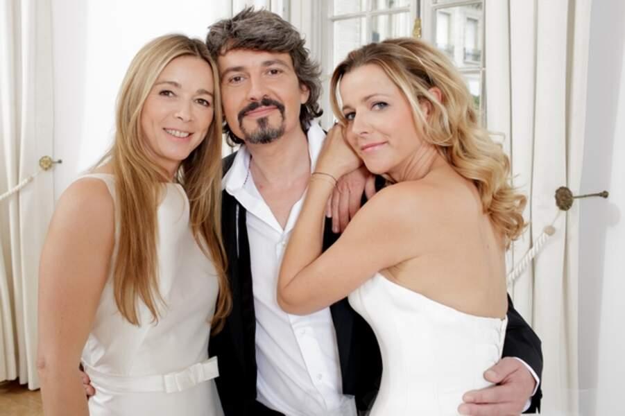 Hélène (Hélène Rollès), José (Philippe Vasseur) et Bénédicte (Laure Guibert)