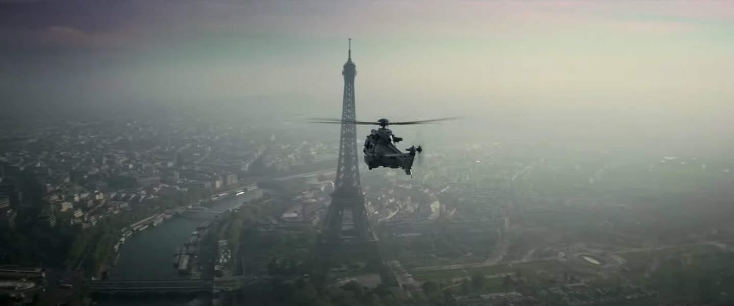 Après Prague, Vienne, Rome, DubaÏ ... , c'est au tour de Paris de servir de toile de fond.