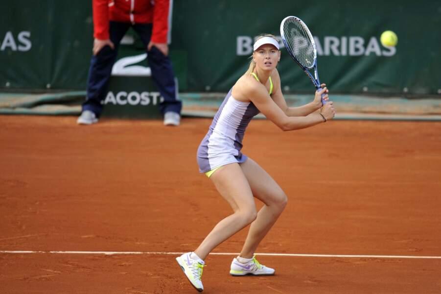 La tenante du titre Maria Sharapova n'a fait qu'une bouchée de la Taïwanaise Hsieh Su-We (6-2, 6-1)