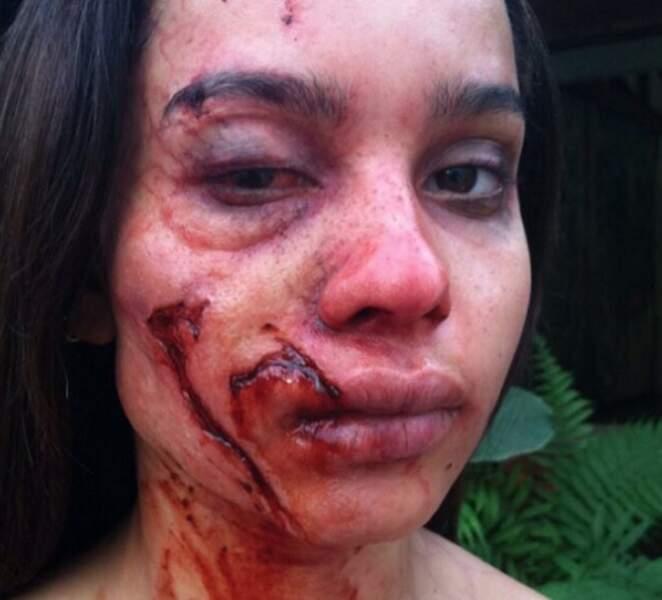 Salut ! Non, ne vous enfuyez pas, c'est Isabella Kravitz avec du make-up effets spéciaux. OUF.