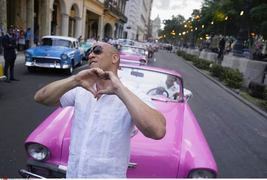 7. Vin Diesel avec 35 millions de $