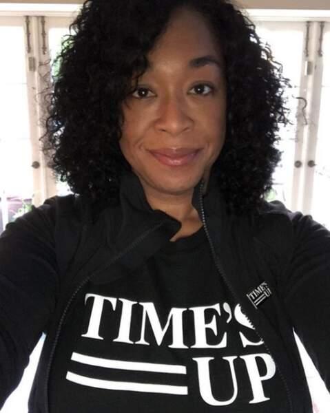 Shonda Rhimes est également un grand soutien du mouvement Time's up