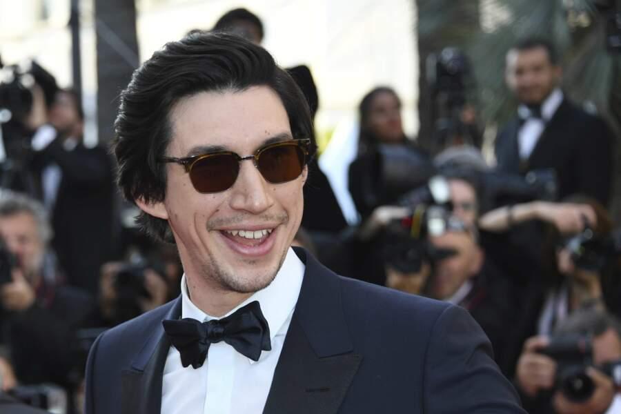 Adam Driver à la côture du Festival de Cannes