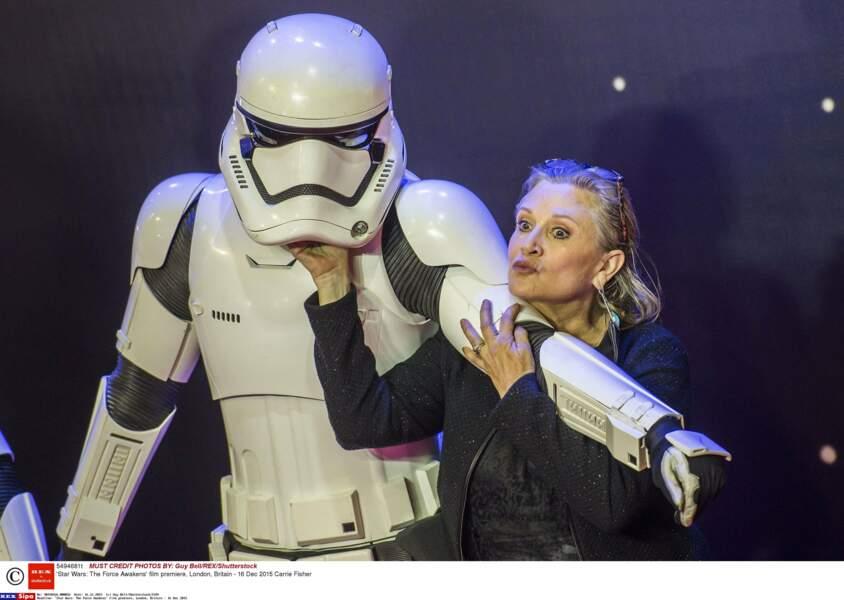 Lors de l'avant-première londonienne du Réveil de la Force en 2015
