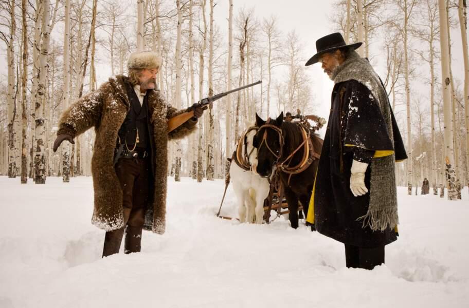 Kurt Russell et Samuel L. Jackson dans Les Huit salopards de Quentin Tarantino, pour bien commencer l'année (6/01)