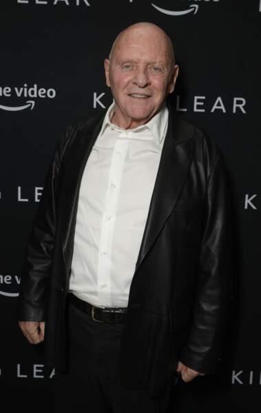 L'acteur Anthony Hopkins (81 ans).