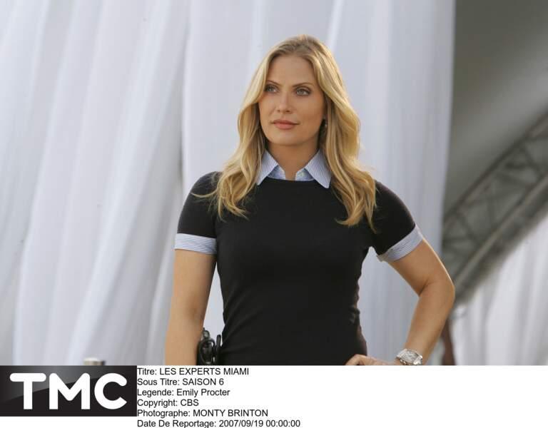 Calleigh Duquesne (Emily Procter) est l'un des personnages incontournables des Experts : Miami