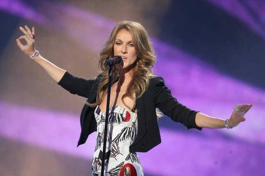 Majestueuse, Céline Dion est venue en 2008