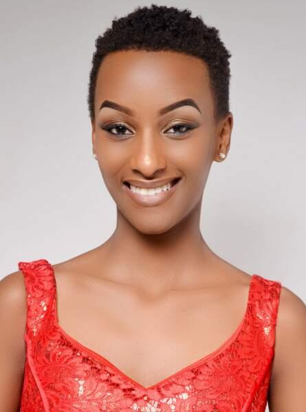 Miss Rwanda : Liliane Iradukunda