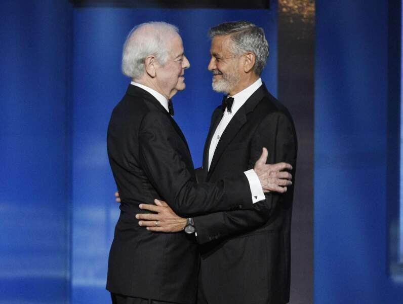 George Clooney et son père Nick Clooney