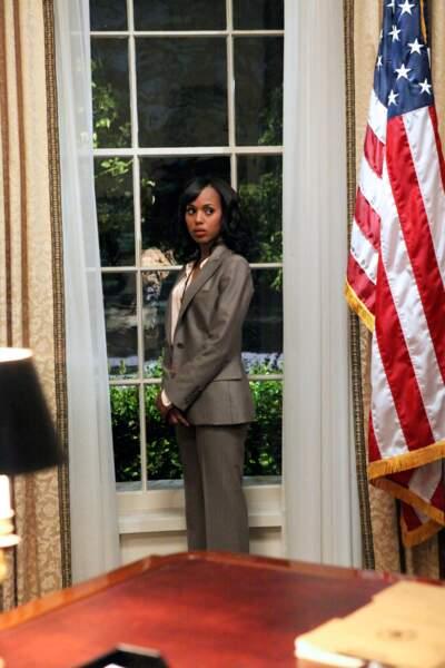 Femme puissante, elle affirme toujours sa féminité, même (surtout ?) au coeur de la Maison Blanche