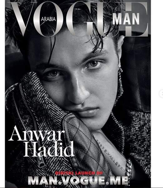 Et déjà la couverture de Vogue Homme Arabie !