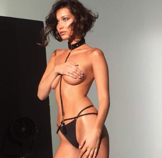 Tout comme la top-model Bella Hadid !
