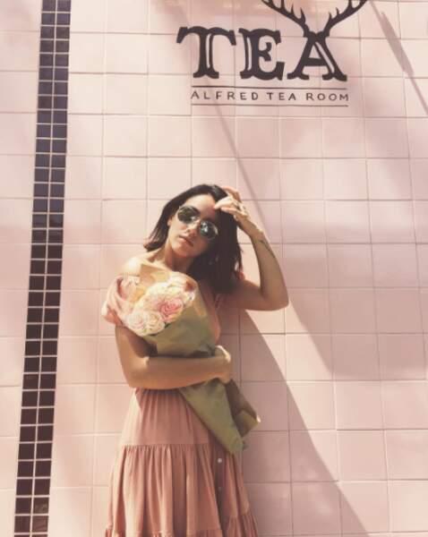 Sinon, l'actrice est aussi une grande fan de thé.