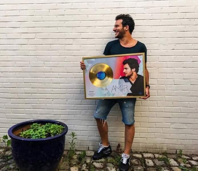 Et dans un autre genre, l'album d'Amir a été récompensé d'un disque d'or en Belgique. Bravo !