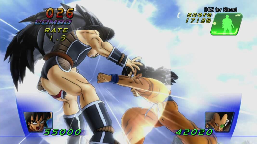 Dragon Ball Z for Kinect (2012 - Xbox 360)