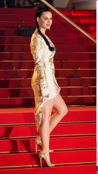 Katy Perry, quatre fois victorieuse à Cannes, mais bredouille lors de cette édition 2014.