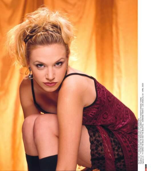 Par alliance, voici Ambre Moore (Adrienne Frantz), mariée quelque temps à Rick Forrester. Ici en 2003