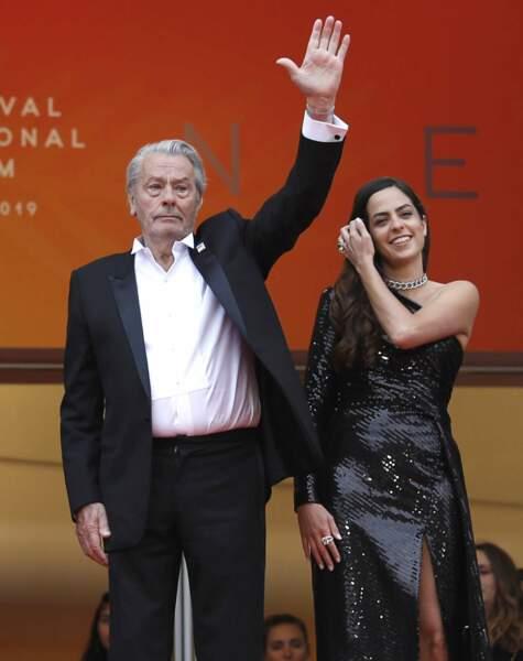 Alain Delon et Anouchka