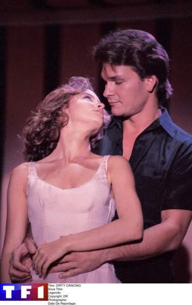 """Jennifer Grey et Patrick Swayze ont rendu culte les rôles de """"Bébé"""" et Johnny Castle, les héros de Dirty Dancing"""