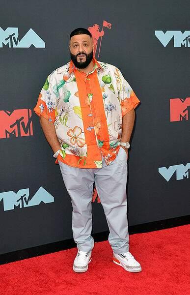 DJ Khaled revenait apparemment tout juste de vacances.