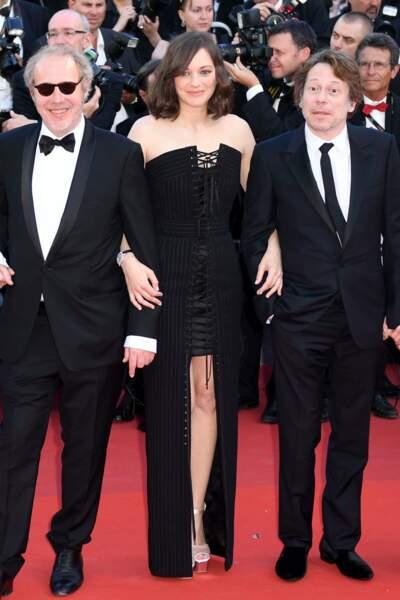 Marion Cotillard et l'équipe du film Les Fantômes d'Ismael