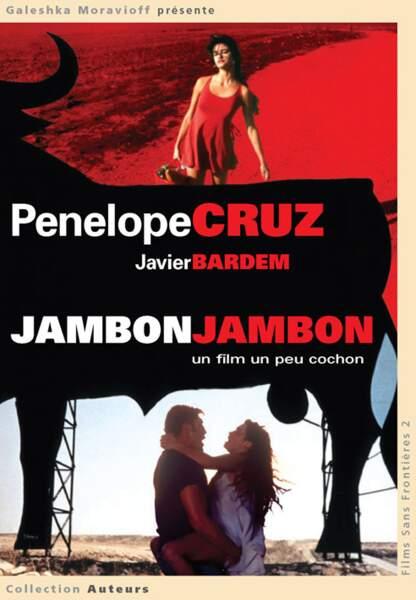 Penelope Cruz et Javier Bardem dans une passion dévorante (Jambon Jambon)